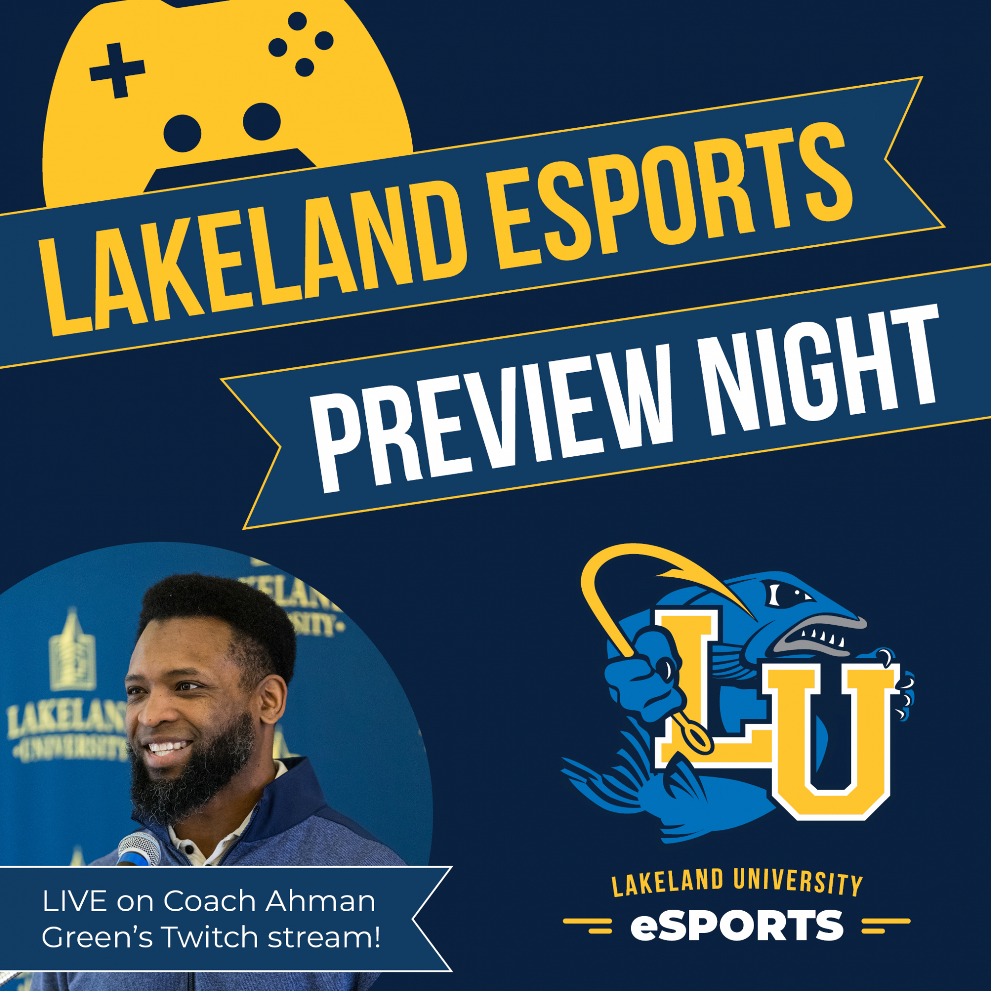 Join us for our second LU Esports Preview Night Feature Image