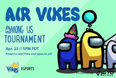 Air Vikes Among Us Tourney Feature Image