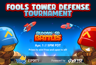 Fools Tower Defense Tournament Feature Image