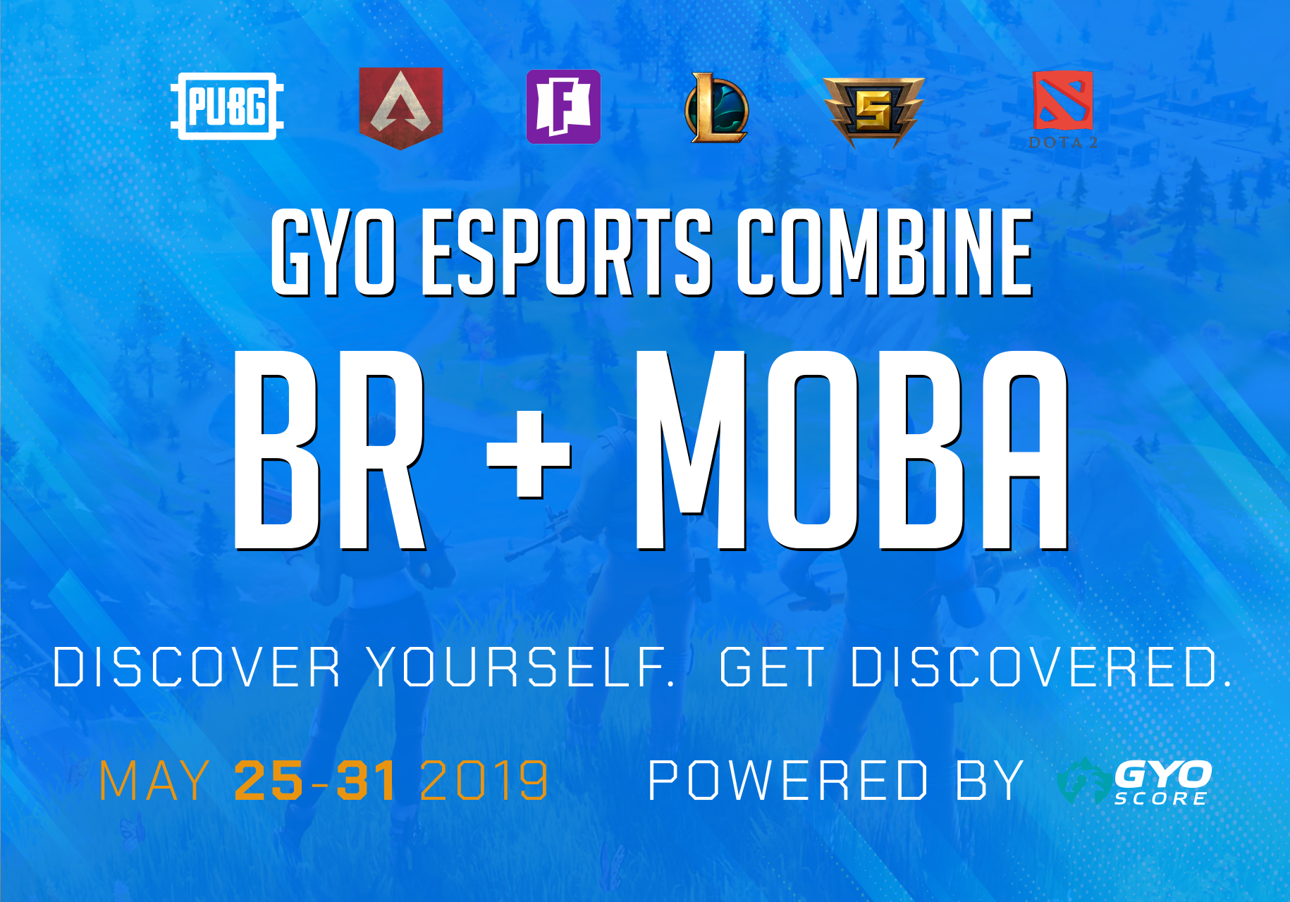 BR + MOBA Combine - May