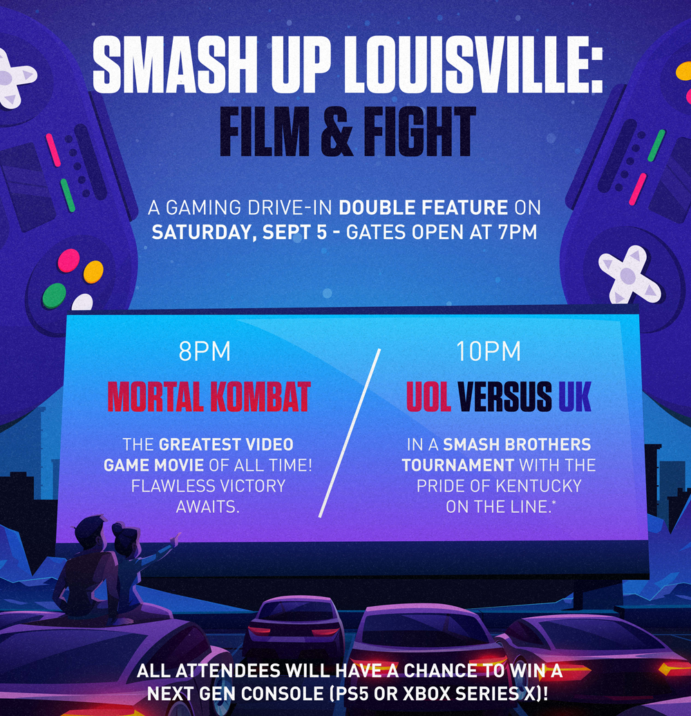 Esports at the Drive-In : Film and Tourney
